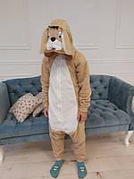 Пижама Кигуруми Песик для детей и взрослых от Украинского производителя
