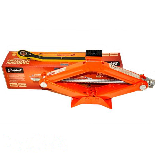 Домкрат механический ромб 1т. с трещеткой ELEGANT 100 810