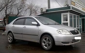 Дефлекторы окон (ветровики) TOYOTA Corolla Sd 2001-2007