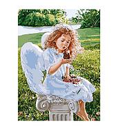 "Картина по номерам \ Розпис по номерах ""Подих янгола"" 35х50см. Идейка арт. КНО2330"