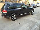 Дефлекторы окон (ветровики) Volkswagen Touareg I 2003-2007; 2007, фото 2