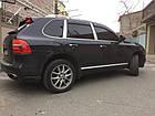 Дефлекторы окон (ветровики) Volkswagen Touareg I 2003-2007; 2007, фото 4