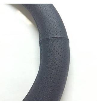 Чехол на руль КОЖА XXXL (49см) черный CK 002BK