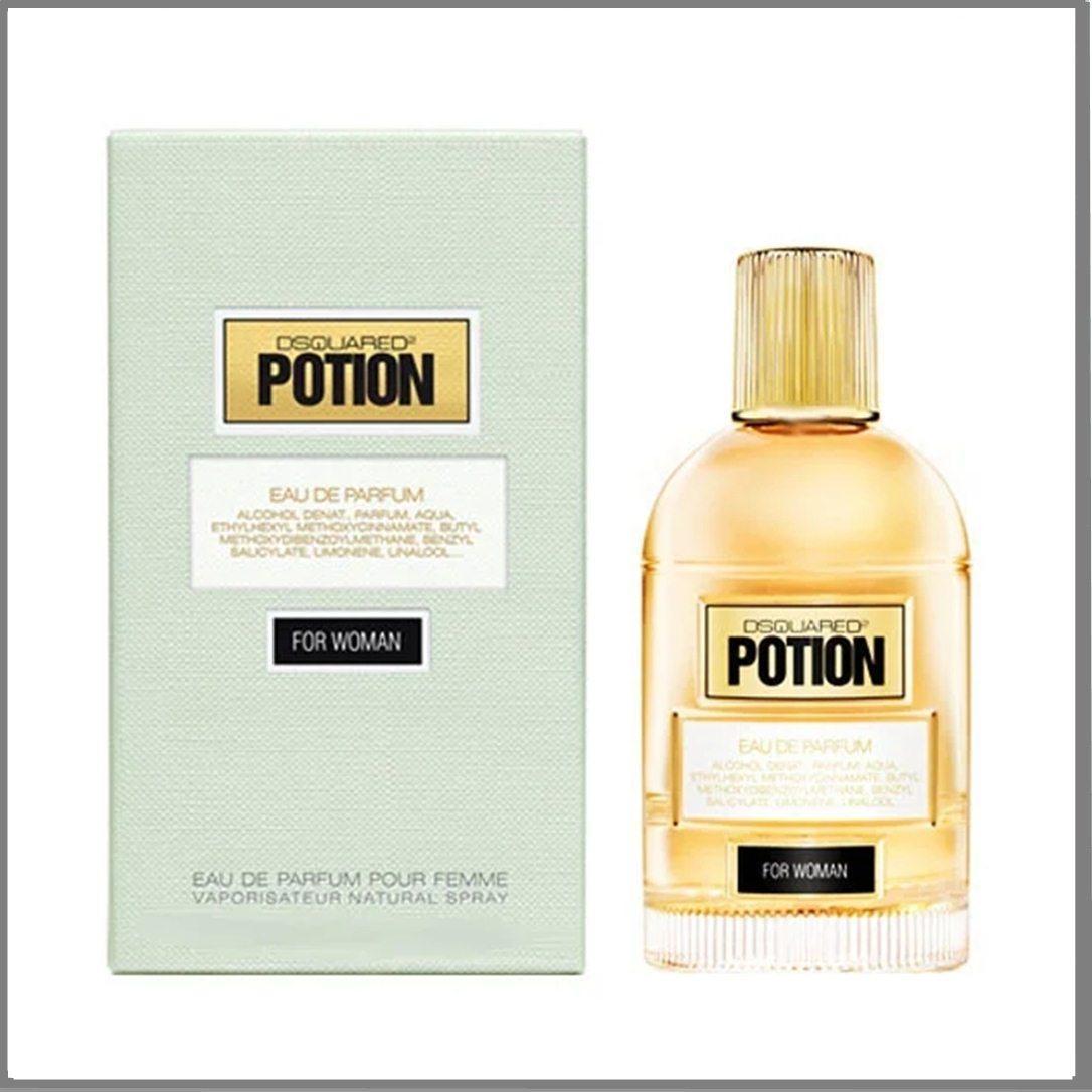Dsquared2 Potion for Woman парфюмированная вода 100 ml. (Дискваред2 Потион Фор Вумен)