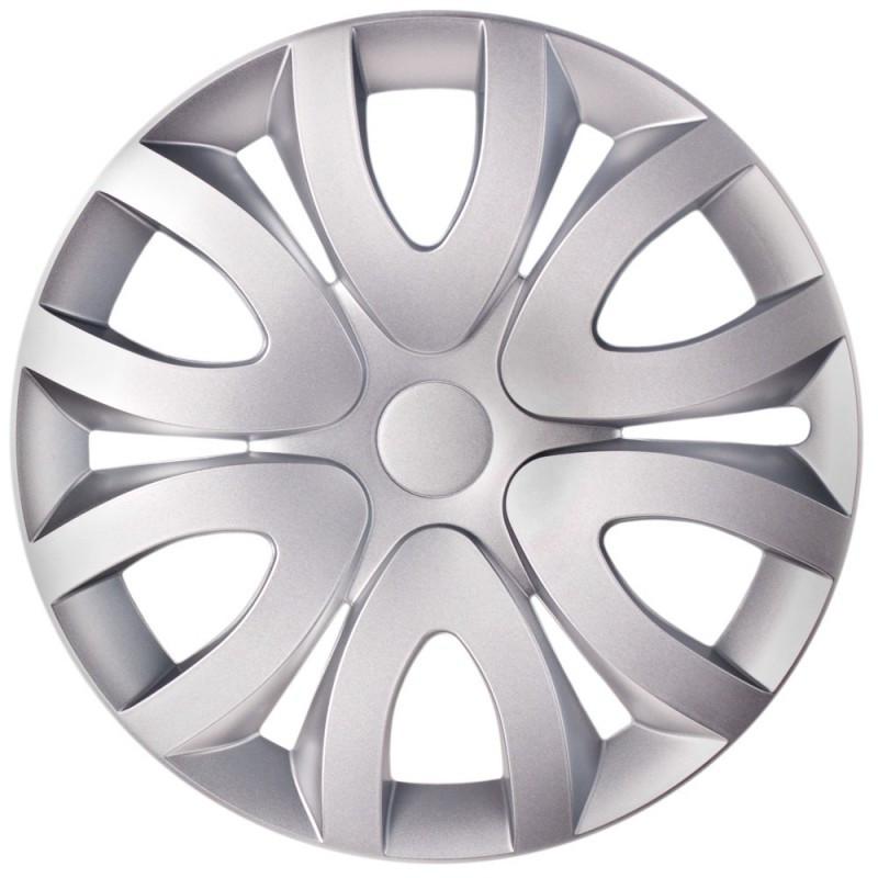 Колпаки колес MIKA Silver Радиус R15 (4шт) Olszewski