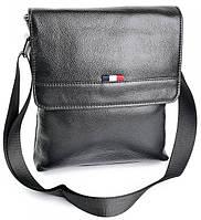 Мужская кожаная сумка  SL-98083  Black. Мужские сумки оптом и в розницу недорого в Украине., фото 1