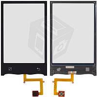 Touchscreen (сенсорный экран) для LG GT540, черный, оригинал