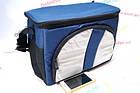 Сумка Холодильник - Термосумка 12л 2 отдела, Нейлон Cooling Bag 377-C (17х25х26), фото 2