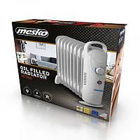 Обогреватель маслянный Mesko MS 7805 на 9 секций мощность 1000w