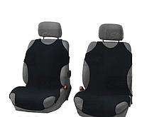 Майка сидения передняя черная (2шт) Elegant 105 252