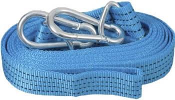 Трос буксировочный 2 т 5,0м Vitol синий/карабин/ ST215В/208-2-2