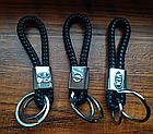 Брелок Honda для автомобильных ключей Эко кожа косичка, фото 6