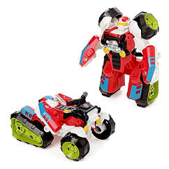 Трансформер 675-9(Red) робот+транспорт 11см,
