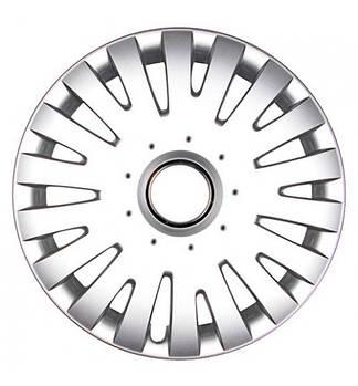 Колпаки колес MALACHIT Silver Радиус R15 (4шт) Olszewski