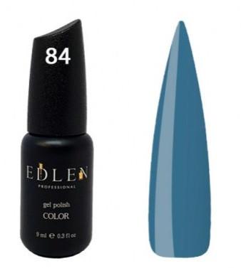 Гель-лак EdLen №84 (серо-синий, эмаль), 9 мл