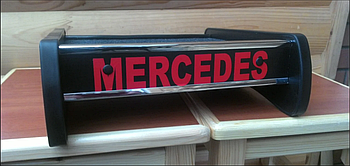 Столик (полку) на торпеду Mercedes VITO 1997-2003 W638 з логотипом