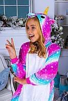Пижама Кигуруми Звездный Единорог. Яркая пижама .Кигуруми для детей ,женщин, мужчин
