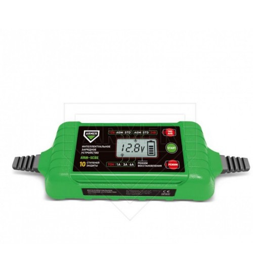 Зарядное устройство автомобильного аккумулятора ARMER ARM-SC6E