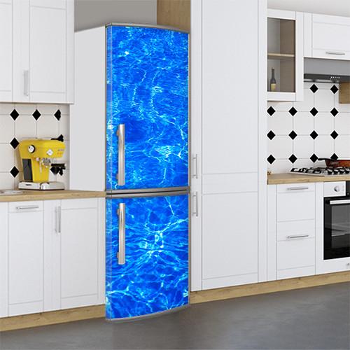 Виниловая наклейка на холодильник, Виниловые наклейки для холодильника, Самоклейка, 180 х 60 см, Лицевая (holSS1_ts11387 Разное)