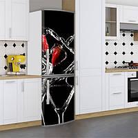 Виниловая наклейка на холодильник, Интерьерные наклейки на кухню, Самоклейка, 180 х 60 см, Лицевая (holSS1_ed10470 Еда)