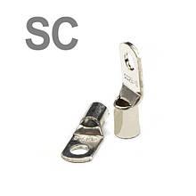 Кабельные наконечники (клеммы) медные луженые SC