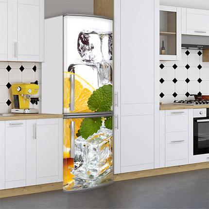 Виниловая наклейка на холодильник, Наклейки холодильник, Самоклейка, 180 х 60 см, Лицевая (holSS1_df13331 Разное), фото 2