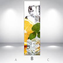 Виниловая наклейка на холодильник, Наклейки холодильник, Самоклейка, 180 х 60 см, Лицевая (holSS1_df13331 Разное), фото 3