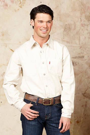 Джинсовая рубашка LEVIS Long Sleeve Button-Up Shirt