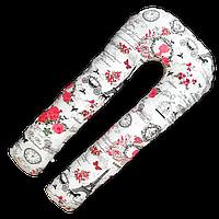 Подушка для беременных для кормления обнимашка U образная подкова 100% Хлопок XXXL 390 см Radi Vsi