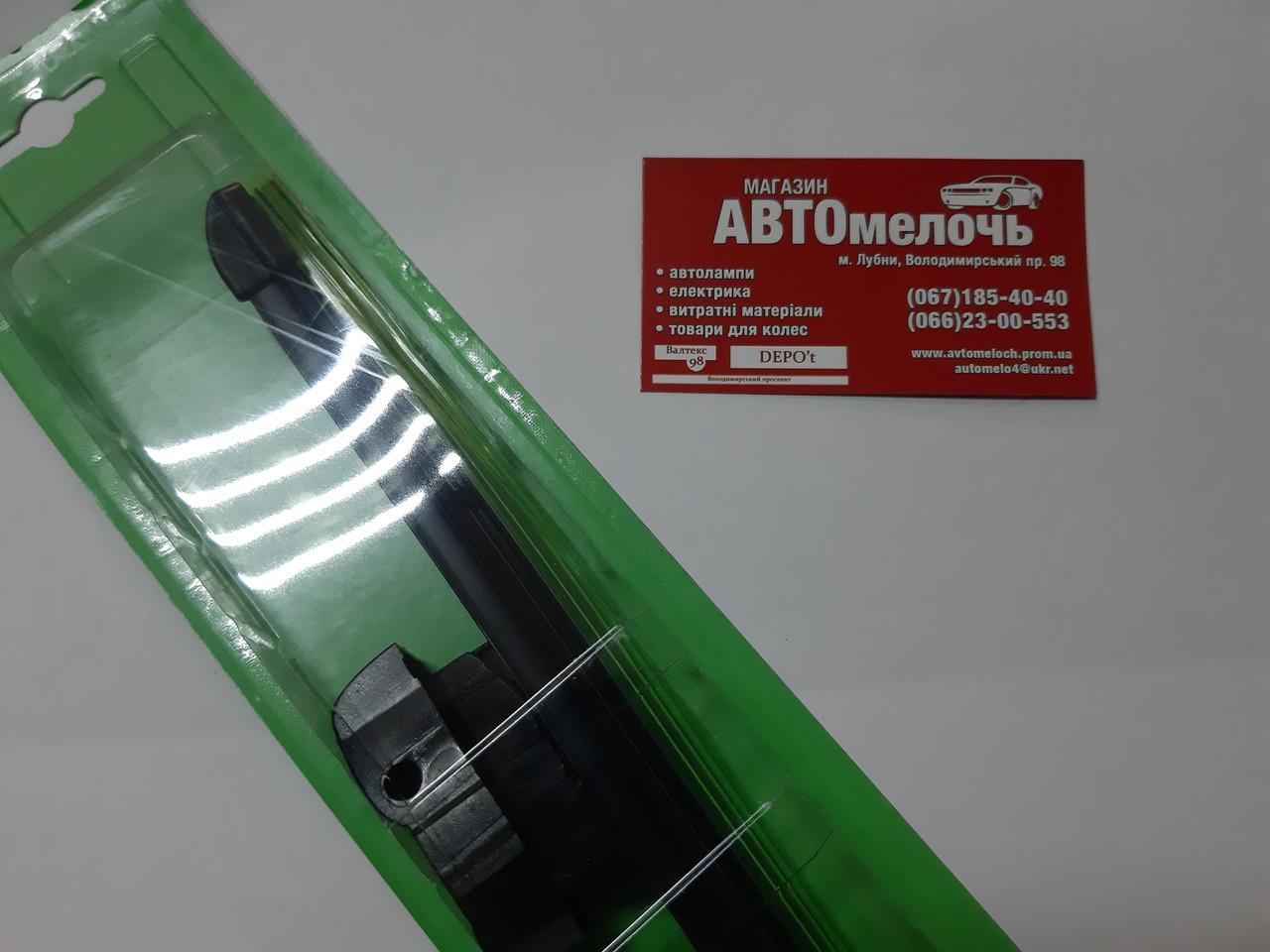 Щетка стеклоочистителя бескаркасная с переходниками 500 мм пр-во Profit