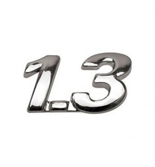Эмблема на багажник 1,3 на багажник на скотче