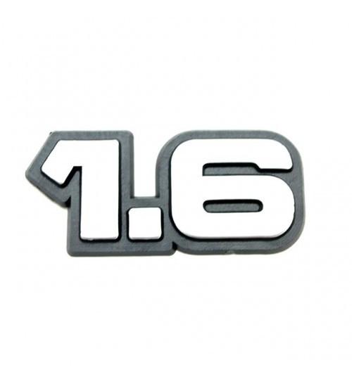 Эмблема на багажник 1,6 на багажник на скотче