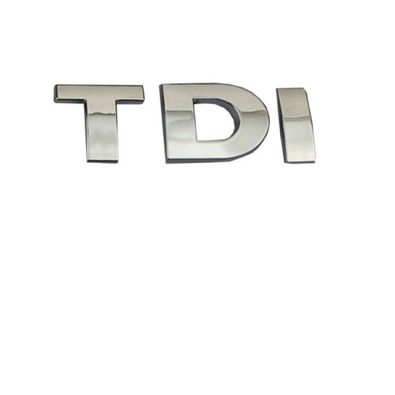 Эмблема на багажник TDI на скотче