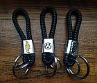 Брелок Mazda для автомобильных ключей Эко кожа косичка, фото 8