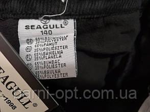 Утеплені вельветові брюки для хлопчиків оптом, Seagull,134-164 рр., фото 3
