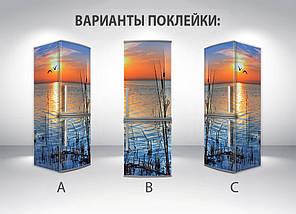 Виниловая наклейка на холодильник, Наклейки для холодильника, Самоклейка, 180 х 60 см, Лицевая (holSS1_pr12185 Природа), фото 2