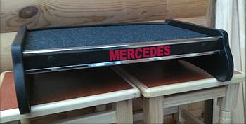 Столик (полку) на торпеду Mercedes VITO 2003-2015 W639 з логотипом
