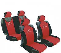 Майка сидения полный комплект красно-черный полиэстер Racing 23088/7*