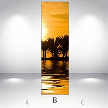 Виниловая наклейка на холодильник, Пленка на холодильник фото, Самоклейка, 180 х 60 см, Лицевая (holSS1_pr12674 Природа), фото 3