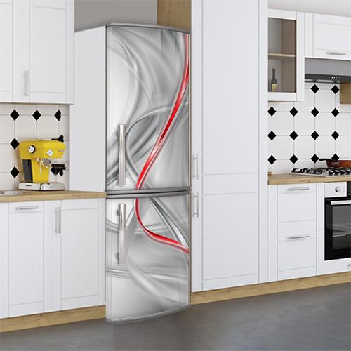 3d Виниловая наклейка на холодильник, Самоклейка, 180 х 60 см, Лицевая (holSS1_ab11413 Хиты)