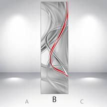 3d Виниловая наклейка на холодильник, Самоклейка, 180 х 60 см, Лицевая (holSS1_ab11413 Хиты), фото 3