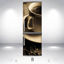 Виниловая наклейка на холодильник, Виниловую пленку на холодильник, Самоклейка, 180 х 60 см, Лицевая (holSS1_ed10310 Хиты), фото 2