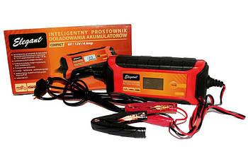 Зарядное устройство автомобильного аккумулятора 6/12V Elegant 100 415