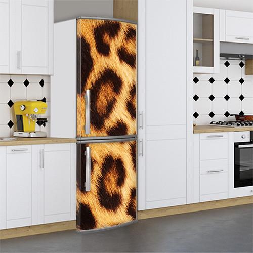 Виниловая наклейка на холодильник, 3д холодильник, Самоклейка, 180 х 60 см, Лицевая (holSS1_ts11462 Разное)