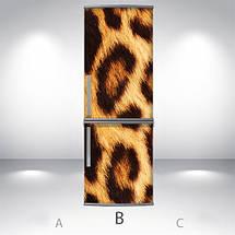 Виниловая наклейка на холодильник, 3д холодильник, Самоклейка, 180 х 60 см, Лицевая (holSS1_ts11462 Разное), фото 2