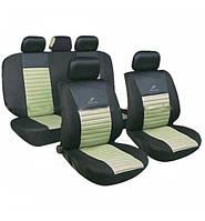 Чехлы авто сидений комплект черно-бежевый Tango 24016/1 Milex Польша