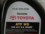 Масло ATF WS 00289-ATFWS Toyota 1л трансмиссионное синтетическое, фото 3