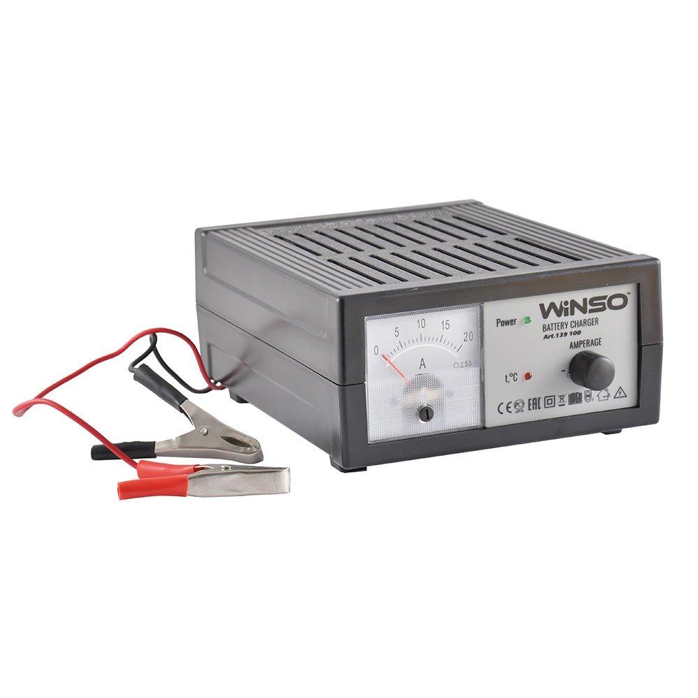 Зарядное устройство автомобильного аккумулятора 18А - 12V  Winso 139100