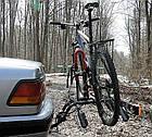Багажник велосипедный на фаркоп Amos Platforma 3 для 3-х велосипедов, фото 5