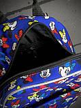 Рюкзак мини Маус голубой, фото 2